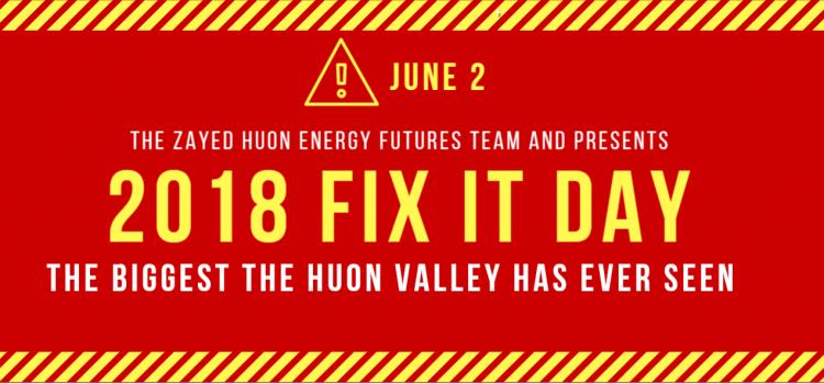 Huon Fix It Day!