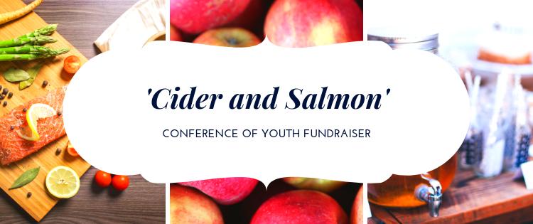 'Cider & Salmon' Fundraiser